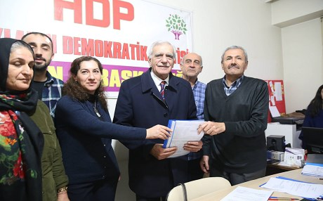 Longtime Kurdish politician will seek his seventh mayoral term in the Kurdish city of Mardin in southeastern Turkey. Photo: HDP
