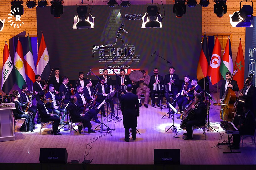 Erbil hosts 5th international theater festival