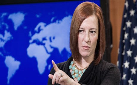 State Department Spokesperson Jen Psaki. Photo: AP