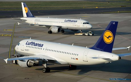 Germany airline, Lufthansa. AFP Photo.