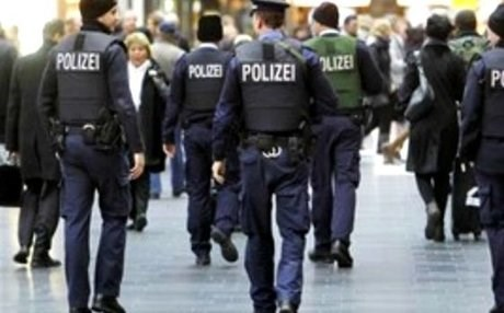 German police have launched a manhunt for the suspects. AP file photo.