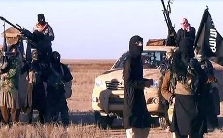 ISIS militants. Rudaw photo.