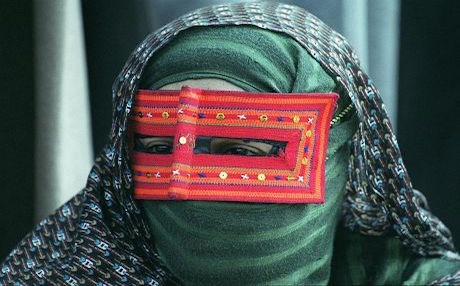 A woman in Iran's southern Hormozgan province which has the highest practice of FGM in the country. Photo: AFP