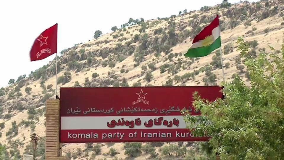 The Komala party has been settled at the Zargwez camp in the Kurdistan Region since the 1980s. Photo: Rudaw.