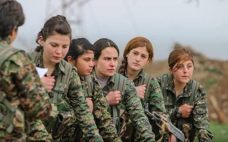 The Britain-based teenager is accused of trying to join the all-women YPJ force in Syria. Photo: Facebook.