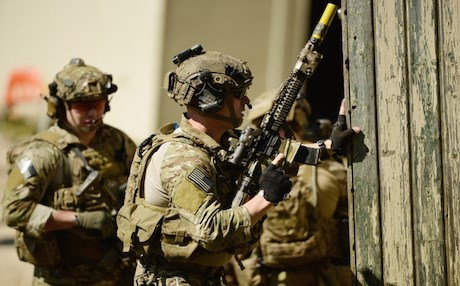 US Special Forces training in Germany. Photo: AFP