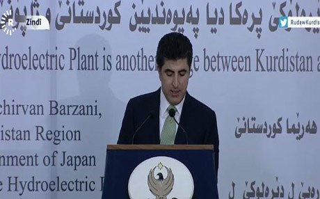 Kurdistan Region Prime Minister Nechirvan Barzani announced Thursday the launch of the Rashava- Deralook electricity station . Photo: Rudaw