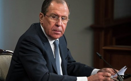 Russian Foreign Minister Sergei Lavrov. AP file photo.