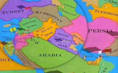 The New New Great Game And Its Impact On The Middle East And US - Map us foreign policy