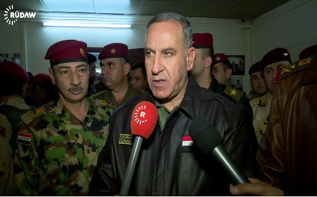 The Iraqi parliament's auditing committee says that Defense Minister Khalid al-Obaidi should be impeached. Photo: Rudaw