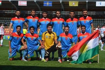 The Kurdistan National Team played at the Conifa World Football Cup in Abkhazia.
