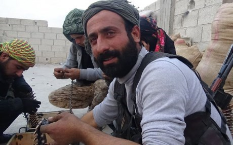 Abu Layla, commander of the YPG's North Sun Brigade