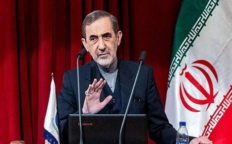 مستشار الزعيم الايراني علي خامنئي للشؤون الدولية علي اكبر ولايتي