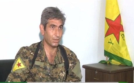 YPG spokesman Redur Xelil. Photo: RT
