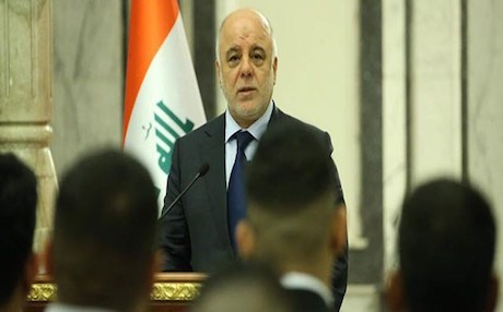 Iraqi Prime Minister Haidar al-Abadi. Photo: Iraqi media