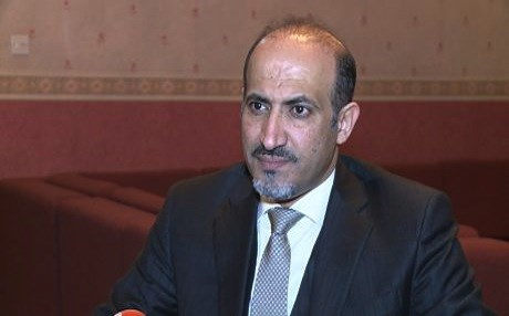 Ahmad al-Jarba, a Syrian opposition leader. He says he commands Arab fighters, trained by the US-led coalition, to join the Raqqa operation. File photo: Rudaw