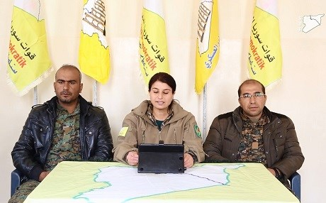 The next phase of the Raqqa campaign was announced on Friday – the aim is to cut off the connection between Raqqa and Deir ez-Zur. Photo: SDF