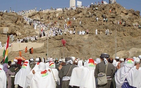 Kurdish Hajj pilgrims on a religious journey to Islam's holy city of Mecca. Photo: Rudaw