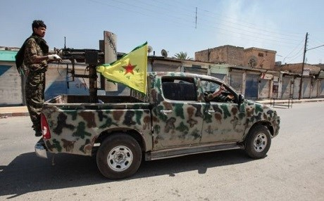 YPG in Syria. Photo: Getty