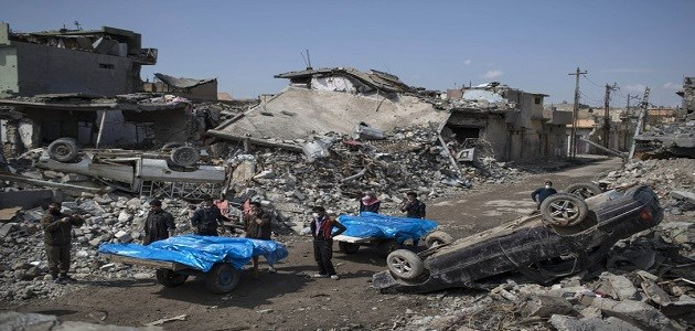 Iraq says deadly Mosul incident was no airstrike but an ISIS car bomb