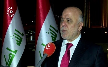 Iraqi Prime Minister Haider al-Abadi. Photo: Rudaw video