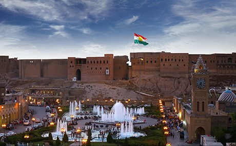 The citadel in central Erbil, Kurdistan Region. Photo: Rudaw