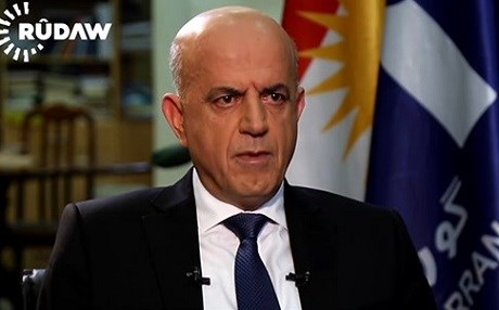 Shorsh Haji, Gorran spokesperson. Photo: Rudaw TV