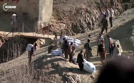 Casualties as Kolbar shot at by Iranian forces on Kurdistan-Iran border