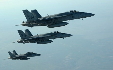 Coalition fighter jets fly over northern Iraq in this file photo. Photo: US Air Force