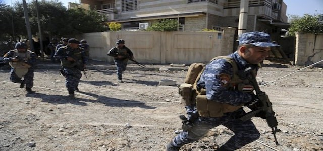 Iraqi security forces advance during fighting against ISIS in western Mosul. AP file photo