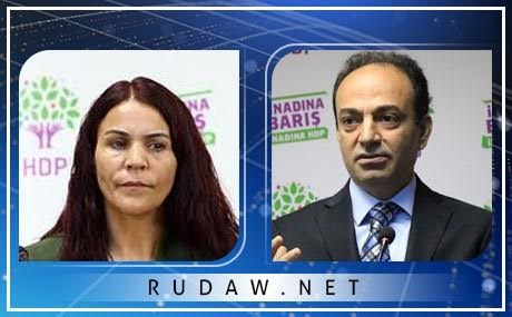 HDP MP Besime Konca and spokesman Osman Baydemir face continued legal pressure from Turkish authorities. Composite photo: HDP