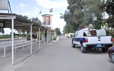 A security checkpoint in Kirkuk. Rudaw file photo