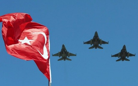 Representational photo of Turkish fighter jets. AFP file photo