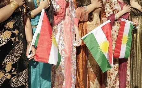 Female students take part in the annual Kurdistan flag day  on December 17, 2013.  File photo:Rudaw