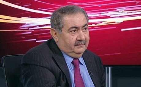 Hoshyar Zebari, a senior Kurdish politician speaks on Rudaw TV in April 2017.