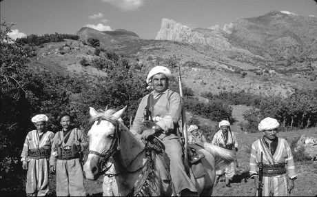 Mustafa Barzani photographed by William Carter in 1965. Photo: Stanford University