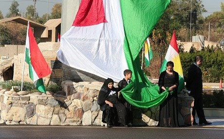 Kurdish people celebrate the national day of Kurdistan flag in 2014: File photo: Rudaw