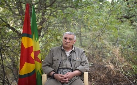 Cemil Bayik, president of the Group of Communities in Kurdistan (KCK). Photo: AFP/Bulent Kilic