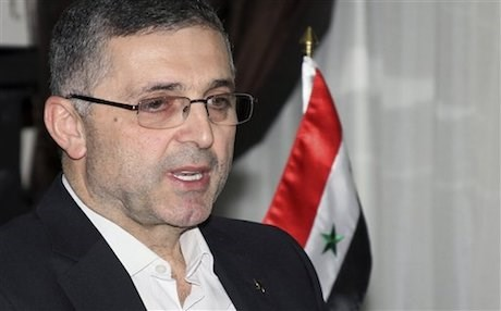 Ali Haider, the Syrian Minister for National Reconciliation Affairs. AFP file photo