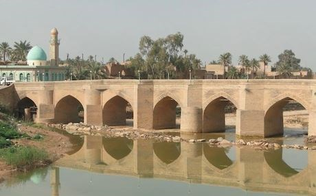 Khanaqin's iconic bridge over the Alwand River. Photo: Rezgar Khanaqini