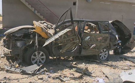 ISIS attacked the home of a police officer west of Kirkuk, killed seven of his family members and took the officer hostage briefly before he was freed by Peshmerga. Photo: Rudaw TV