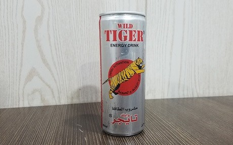 Tiger Energy Drink Iraq