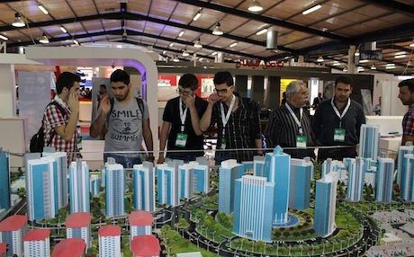 Also, several small companies from the autonomous Spanish region of Catalonia are taking part in infrastructure projects in Kurdistan, such as roads and housing. Picture from Erbil International Fair 2013/Empire World
