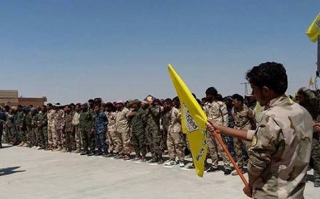 The SDF posted this photo of SEF fighters on August 25. Photo: SDF Press