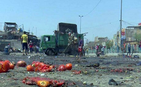A car bomb exploded in a busy market in Baghdad Sadr City. Photo: Rudaw