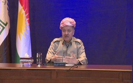 President Masoud Barzani says he will resign if people vote against independence