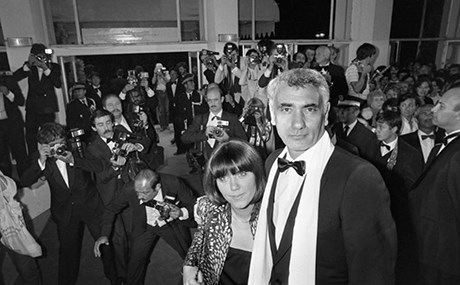 Yilmaz Guney with his wife at the 1982 Cannes Film Festival. Photo: Getty Images