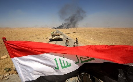 Iraqi forces regain control of a village near Tal Afar in the province of Nineveh from ISIS militants on August 28. Photo: Ahmad Al-Rubaye | AFP