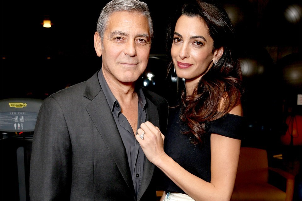 Humanitarians George Clooney and Amal Clooney in August 2017. File photo: Todd Williamson | AFP