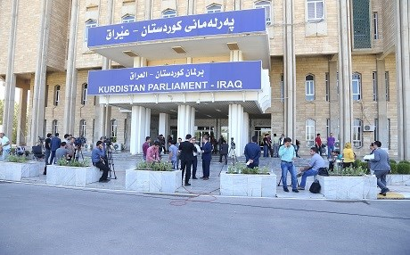 Kurdistan parliament has not convened since October 2015 because of political disagreements between the KDP and Gorran, the first two largest parties in the Kurdistan Region. File photo: Rudaw/Farzin Hassan.